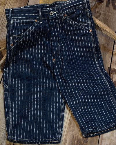 画像2: TOYS McCOY -CROPPED RAILMAN TROUSERS WABASH-