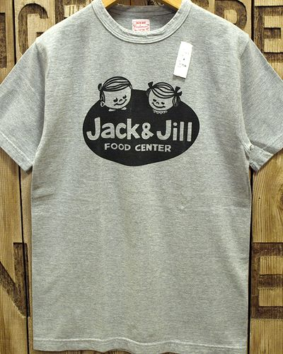 "画像5: CUSHMAN ""JACK&JILL"" RECYCLE COTTON TEE"