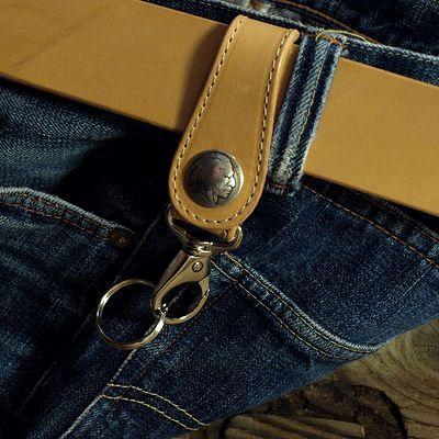 画像5: KC,s -KEY RING 5¢ concho COWHIDE-