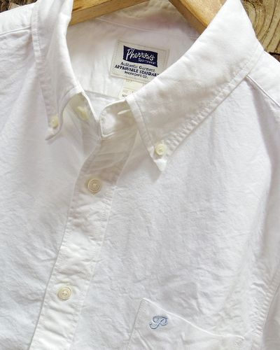 "画像2: Pherrow's ""PBD1"" Oxford B.D. Shirts"