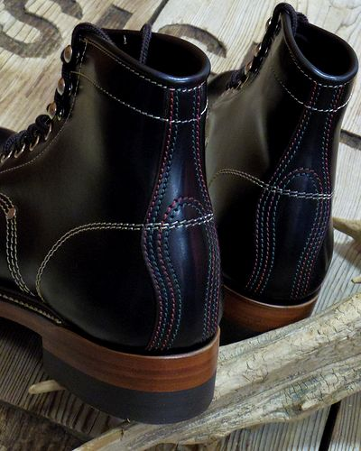 "画像4: TOYS McCOY -WORK BOOTS ""SURVEYOR""- GLASS LEATHER"