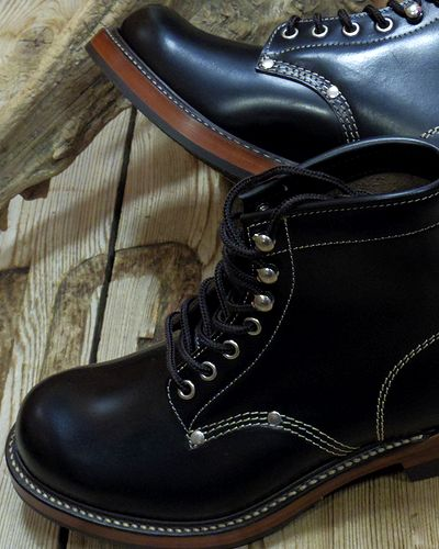 "画像2: TOYS McCOY -WORK BOOTS ""SURVEYOR""- GLASS LEATHER"