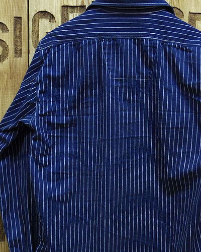 "画像5: Sugar Cane ""8.5oz. WABASH STRIPE WORK SHIRT"""