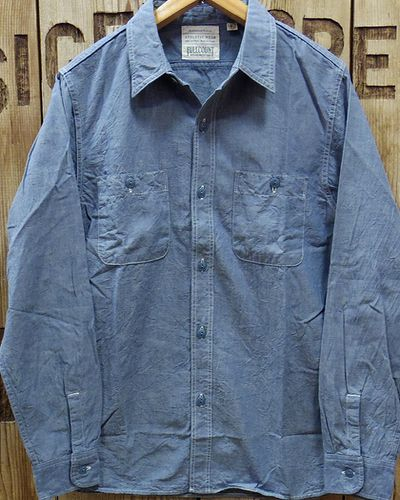 "画像1: FULLCOUNT ""BASIC CHAMBRAY SHIRTS"" 4810-15"