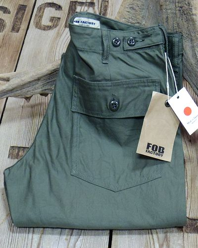 画像2: FOB FACTORY -BAKER PANTS- F0431