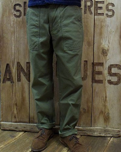 画像3: FOB FACTORY -BAKER PANTS- F0431