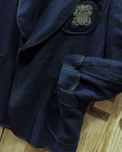 """画像4: Pherrow's """"16S-PSJ1"""" Vtg Style Smoking Jacket"""
