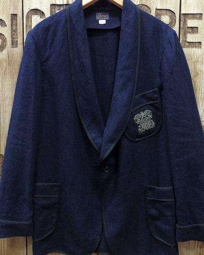 """画像2: Pherrow's """"16S-PSJ1"""" Vtg Style Smoking Jacket"""