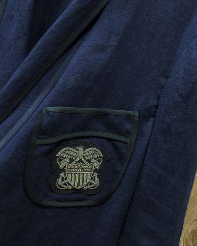"""画像3: Pherrow's """"16S-PSJ1"""" Vtg Style Smoking Jacket"""