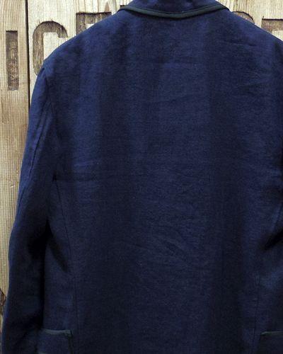 """画像5: Pherrow's """"16S-PSJ1"""" Vtg Style Smoking Jacket"""