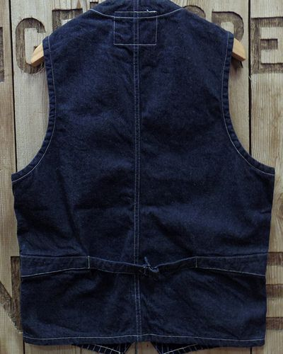 "画像5: Sugar Cane ""9oz. WABASH STRIPE WORK VEST"""