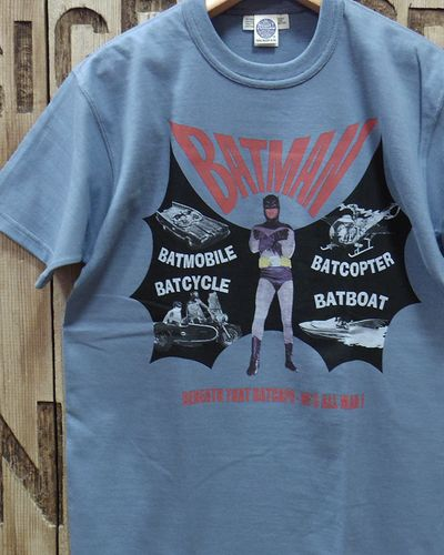 "画像4: TOYS McCOY -BATMAN TEE ""BENEATH THAT BATCAPE-HE'S ALL MAN!""-"