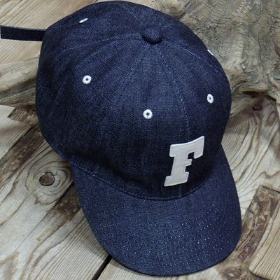 "画像3: FULLCOUNT ""6PANEL DENIM BASEBALL CAP"""