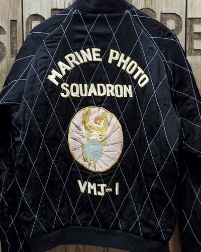 "画像5: KOSHO & CO. -SOUVENIR JACKET ""MARINE PHOTO SQDN.""-"