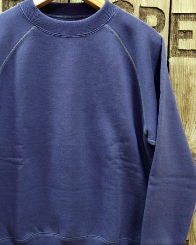 画像1: TOYS McCOY -S. McQUEEN SWEAT LONG SLEEVE- BLUE
