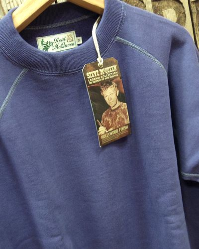 画像3: TOYS McCOY -S. McQUEEN SWEAT LONG SLEEVE- BLUE