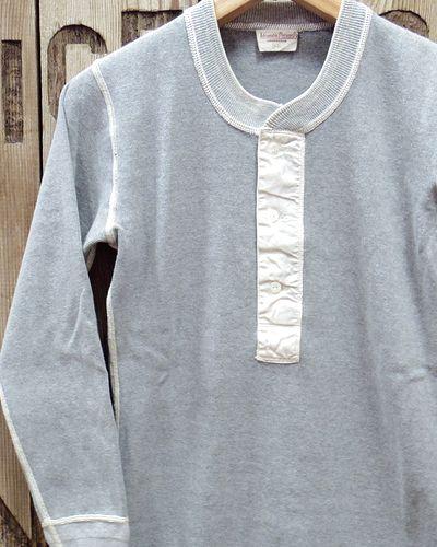 画像1: ADJUSTABLE COSTUME -30's STYLE L/S HENLEY NECK SHIRT-