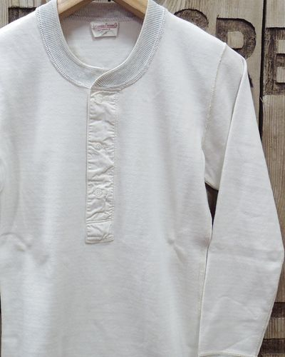 画像1: ADJUSTABLE COSTUME -30's STYLE L/S HENLEY NECK SHIRT-