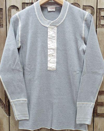 画像2: ADJUSTABLE COSTUME -30's STYLE L/S HENLEY NECK SHIRT-