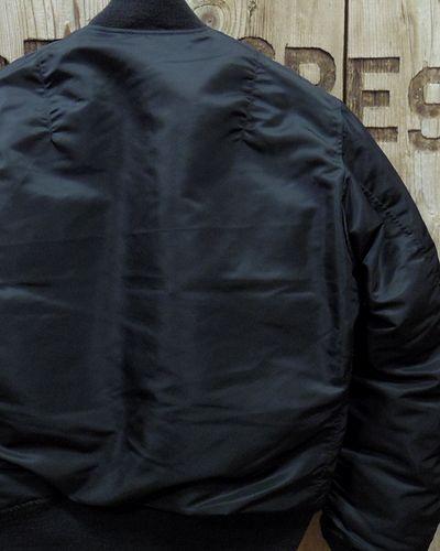 """画像5: WILLIAM GIBSON """"TYPE BLACK MA-1 """"DOWN FIELD""""-"""
