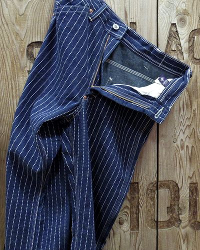 画像2: TOYS McCOY -RAILMAN TROUSERS WABASH-