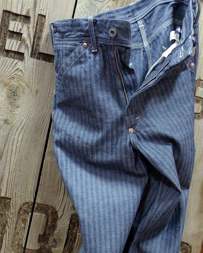 "画像2: TOYS McCOY -PAINTER TROUSERS ""HERRINGBONE DENIM""-"