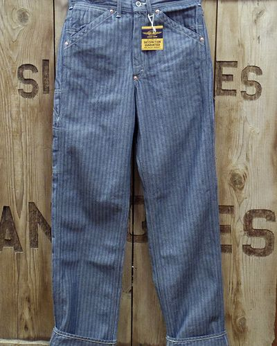 "画像4: TOYS McCOY -PAINTER TROUSERS ""HERRINGBONE DENIM""-"