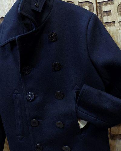 """画像3: BUZZ RICKSON'S -TYPE PEA COAT """"NAVAL CLOTHING FACTORY""""-"""