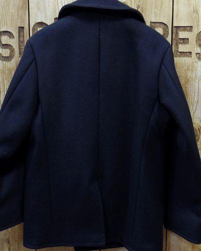 """画像5: BUZZ RICKSON'S -TYPE PEA COAT """"NAVAL CLOTHING FACTORY""""-"""