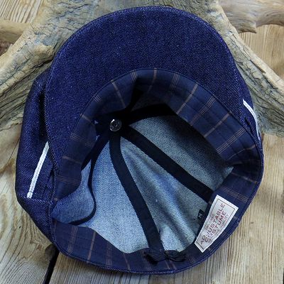 "画像4: ADJUSTABLE COSTUME ""20's Style Casquette"" INDIGO DENIM"