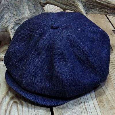 "画像5: ADJUSTABLE COSTUME ""20's Style Casquette"" INDIGO DENIM"