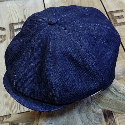 "画像3: ADJUSTABLE COSTUME ""20's Style Casquette"" INDIGO DENIM"