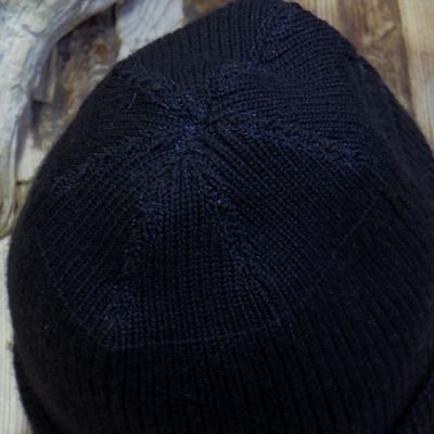 "画像4: WILLIAM GIBSON COLLECTION ""BLACK A-4 KNIT CAP"""