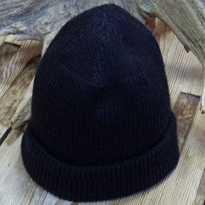 "画像3: WILLIAM GIBSON COLLECTION ""BLACK A-4 KNIT CAP"""