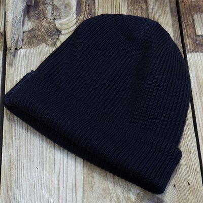 "画像2: WILLIAM GIBSON COLLECTION ""BLACK A-4 KNIT CAP"""