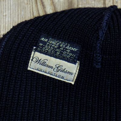"画像5: WILLIAM GIBSON COLLECTION ""BLACK A-4 KNIT CAP"""