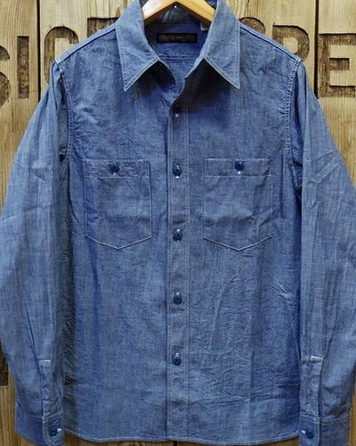 画像1: FULLCOUNT -25th CHAMBRAY SHIRTS- 4810EX