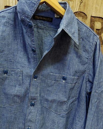 画像2: FULLCOUNT -25th CHAMBRAY SHIRTS- 4810EX