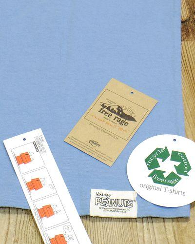 """画像5: FREE RAGE """"SURF'S UP!"""" Recycle Cotton Tee"""