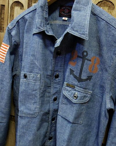 画像3: TOYS McCOY -MILITARY CHAMBRAY SHIRT-