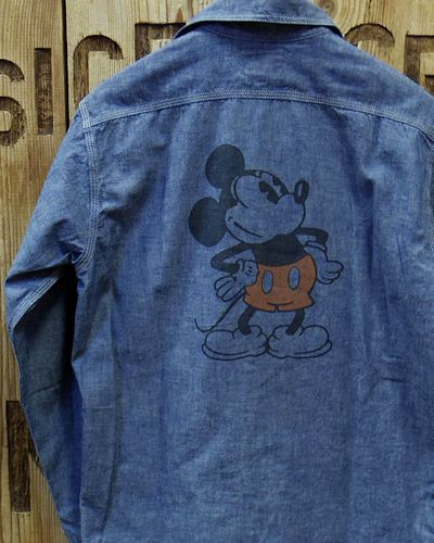 画像1: TOYS McCOY -MILITARY CHAMBRAY SHIRT-