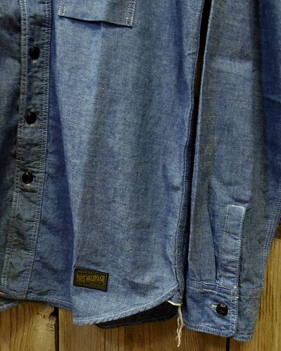 画像5: TOYS McCOY -MILITARY CHAMBRAY SHIRT-