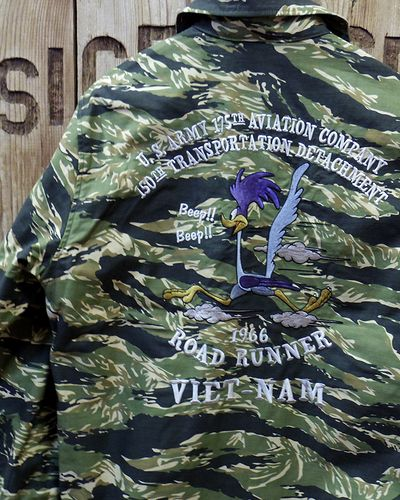 "画像4: TOYS McCOY -UTILITY JACKET TIGER STRIPE ""U.S. ARMY 175TH AVTN COMPANY""-"