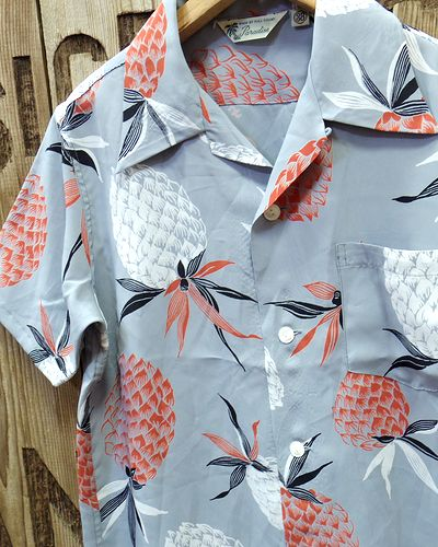 "画像3: FULLCOUNT -25th HAWAIIAN SHIRTS ""PINEAPPLE""-"