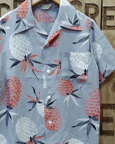 "画像1: FULLCOUNT -25th HAWAIIAN SHIRTS ""PINEAPPLE""-"