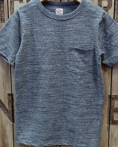 画像2: FULLCOUNT -GARABOU HEATHER POCKET T-SHIRTS-