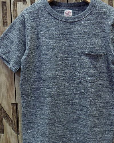 画像1: FULLCOUNT -GARABOU HEATHER POCKET T-SHIRTS-