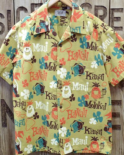 "画像2: SUN SURF -""PINEAPPLE HEAVEN"" OPEN SHIRT-"