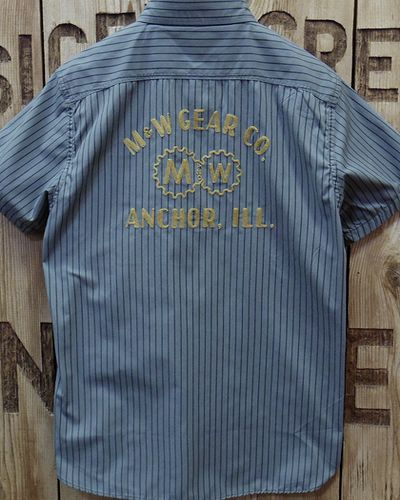 "画像5: Pherrow's ""17S-PWBD1-S"" S/S Work Shirt"