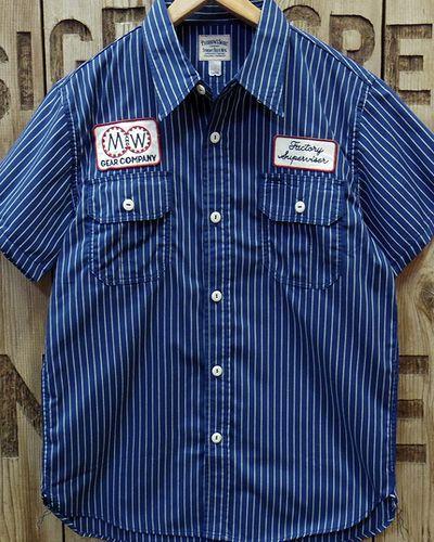 "画像2: Pherrow's ""17S-PWBD1-S"" S/S Work Shirt"